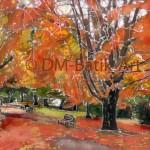 Royal Botanic Gardens in Autumn
