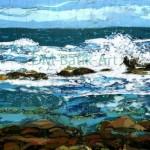 Sea at Esha Ness, SI